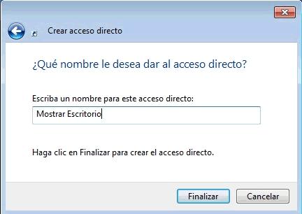 Mostrar Escritorio Windows 7 igual que windows xp o vista