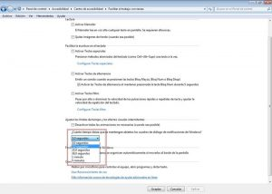 Cuadro de dialogo de Windows 7