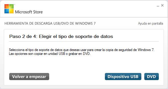 Instalar Windows 7 desde una memoria USB