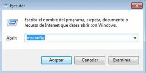 Quitar programas del inicio de Windows 7