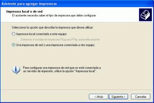 Instalar una impresora en red bajo windows 7 y windows xp