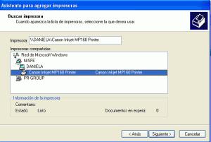 Instalar una impresora en red bajo Windows xp y Windows 7