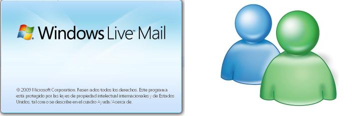 Desvincular quitar Eliminar mi cuenta del MSN de Windows Live Mail