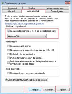 minimizar messenger barra de tareas windows 7