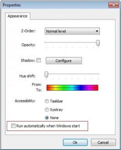 Sombra en la barra de tareas windows 7
