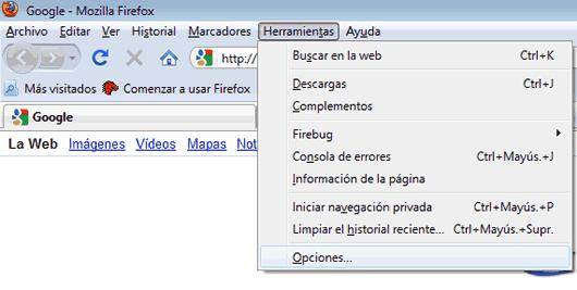 Recuperar Eliminar contraseñas almacenadas Mozilla Firefox