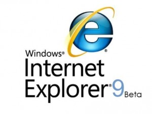 IE 9 Beta internet explorer