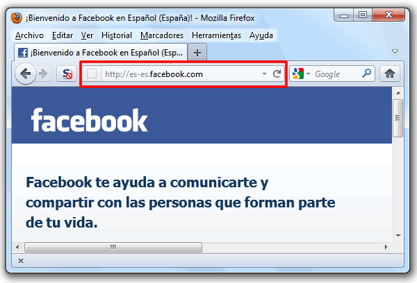 Anclar Facebook a la barra de tareas de Windows 7