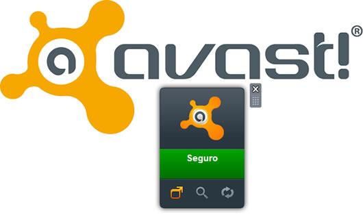 Como desinstalar y eliminar el Gadget de Avast 6 Windows 7