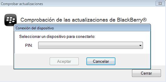 Como actualizar el sistema operativo de tu BlackBerry