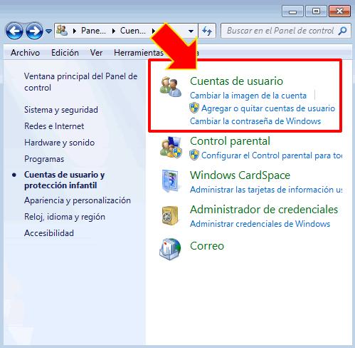 Cambiar Nombre de Usuario Windows 7