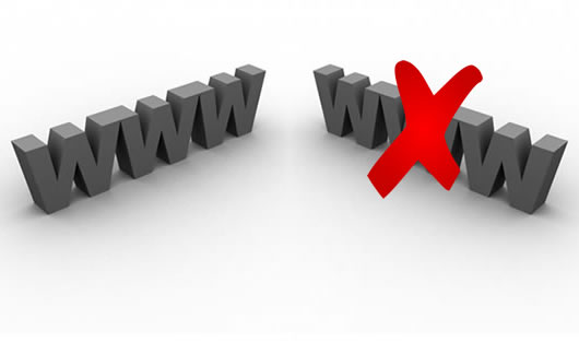 Como mostrar Dominio Blog Pagina Web con WWW sin WWW