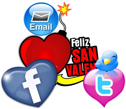 San Valentin Correo Electronico Redes Sociales Virus