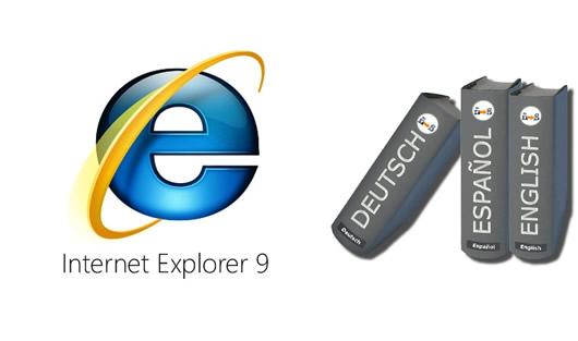 Corrector Ortográfico de Internet Explorer 9