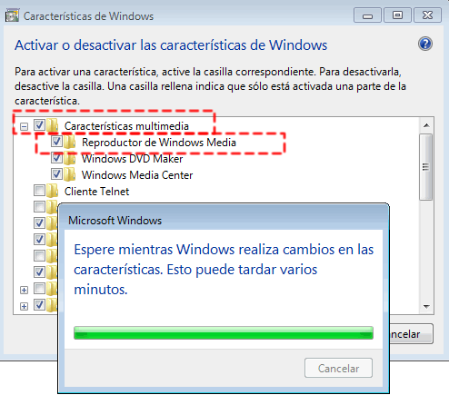 Como Instalar y Desinstalar Windows Media Player 12