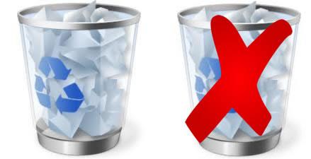 Eliminar archivos sin que pasen por la Papelera de Reciclaje