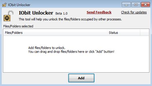 Eliminar Archivos Bloqueados en Windows 7 con IObit Unlocker