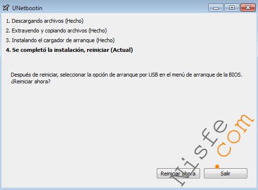 Como instalar Beini en una memoria USB