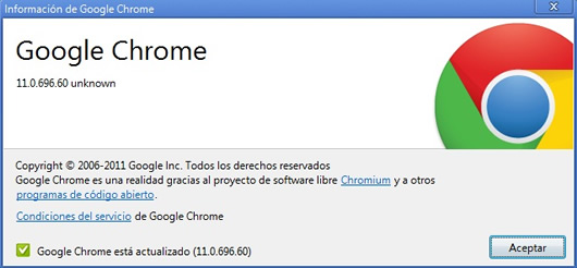 Entrada de voz a traves de HTML con Google Chrome 11