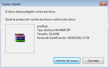 Impedir que copien tus archivos en dispositivos USB Windows