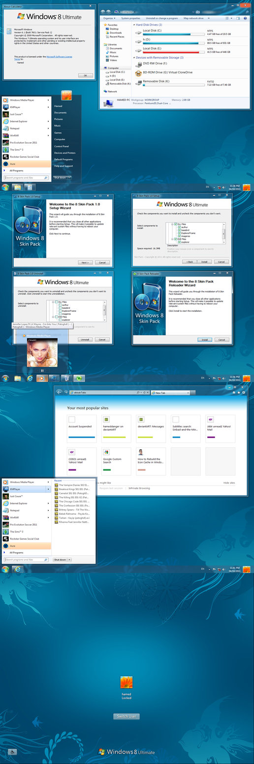 Windows 8 Transformation Pack Transforma tu Windows 7