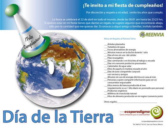 El Día Mundial de la Tierra se celebra hoy 22 de abril