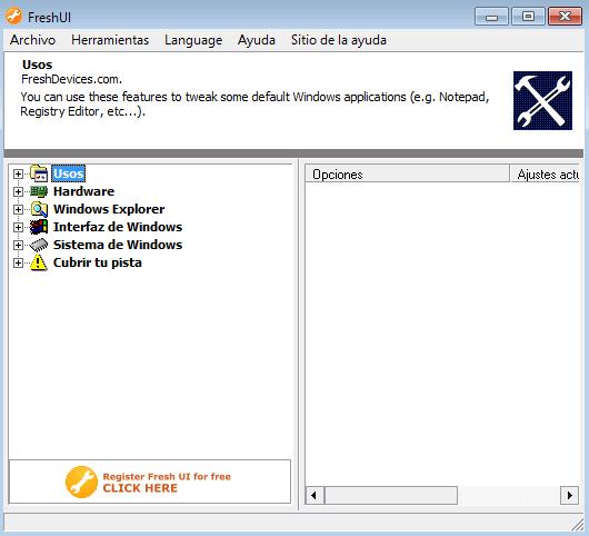 Personalizar y Configurar las opciones ocultas de Windows XP Vista 7