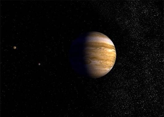 Protector de Pantalla del Planeta Júpiter en 3D ScreenSaver