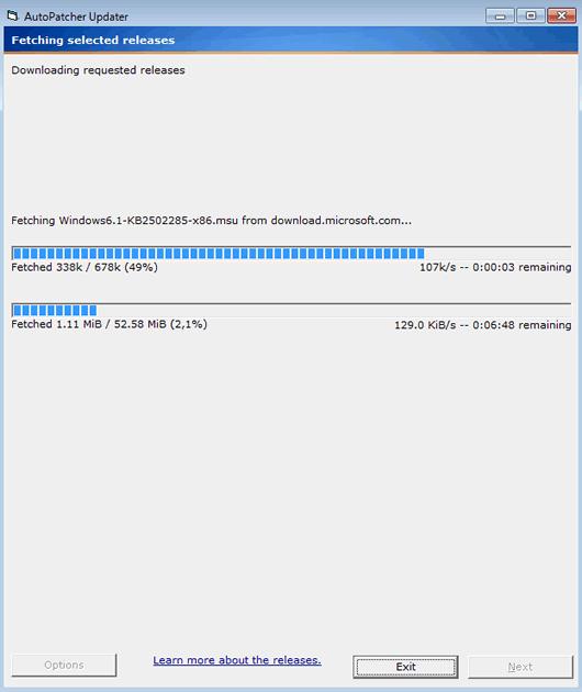 Actualizar Windows 7 Offline sin conexión a Internet con AutoPatcher