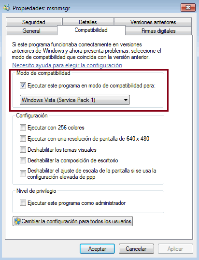 Como solucionar el Error 0x8ac70013 de Windows Live Messenger