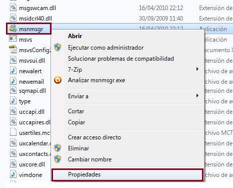Como solucionar el Error 0x8ac70013 de Windows Live Messenger