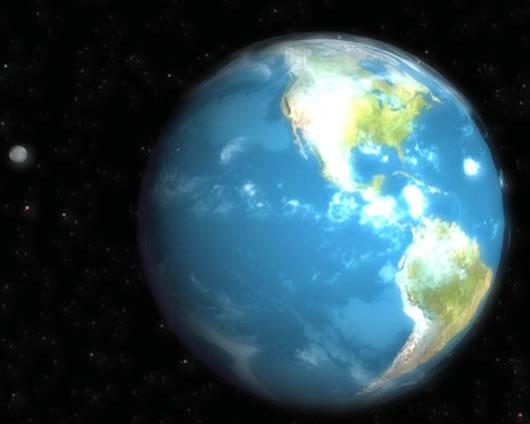 Protector de Pantalla del Planeta Tierra Free 3D Earth Screensaver