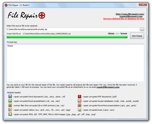 Repara tus archivos corruptos y dañados con File Repair