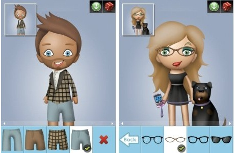 Crea tu avatar para el BlackBerry Messenger con Avatar Builder