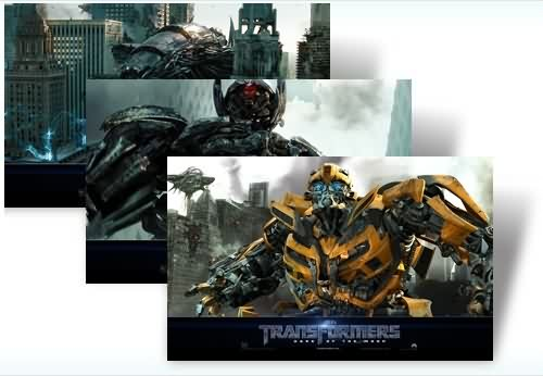 Tema para Wndows 7 de Transformers 3 Dark of the Moon