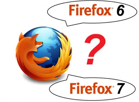 Firefox 6 Beta y Firefox 7 Aurora disponible el mismo día