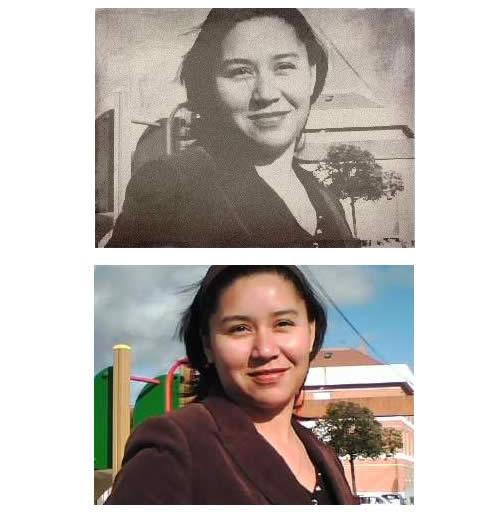 Como envejecer fotografías imágenes forma online Labs Wanokoto