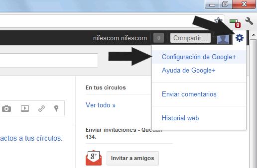 Como desactivar las notificaciones de Google+ que envía a tu correo electrónico