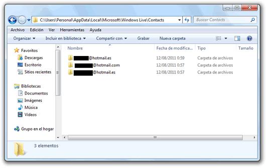 No puedo ver la imagen de mis contactos en Windows Live Messenger 2011