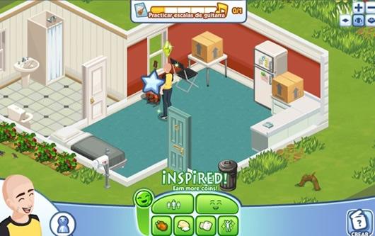 Jugar a los Sims en Facebook con The Sims Social