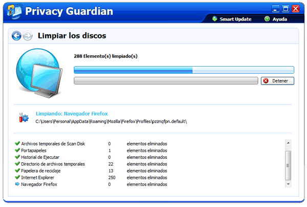 Obtén una licencia y Descarga PC Tools Privacy Guardian 4.5 de forma gratis