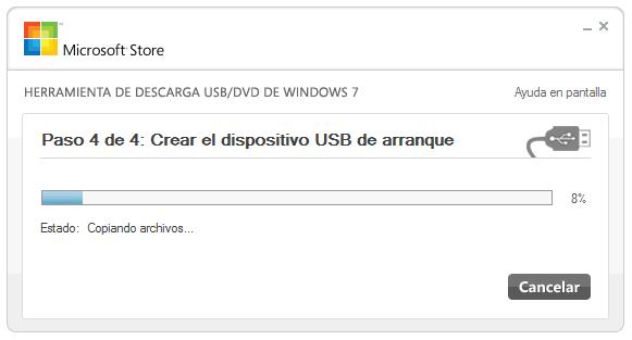Crear un instalador de Windows 8 en una memoria USB