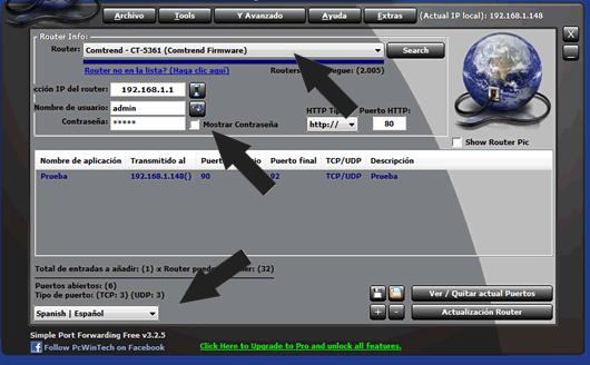 Simple Port Forwarding abrir puertos en el router de forma sencilla