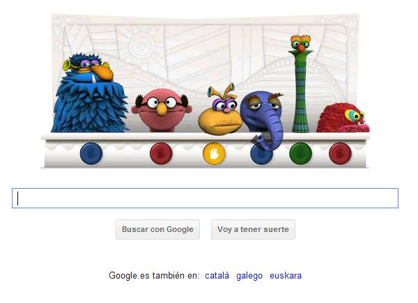 Google recuerda al creador de los Muppets con un doodle interactivo de sus muñecos