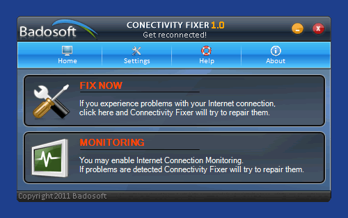Reparar los problemas de conexión a Internet  de Windows 7 con Connectivity Fixer