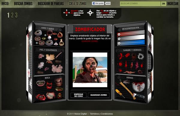Convierte tus fotografías en  Zombie con Zombifier en este Halloween