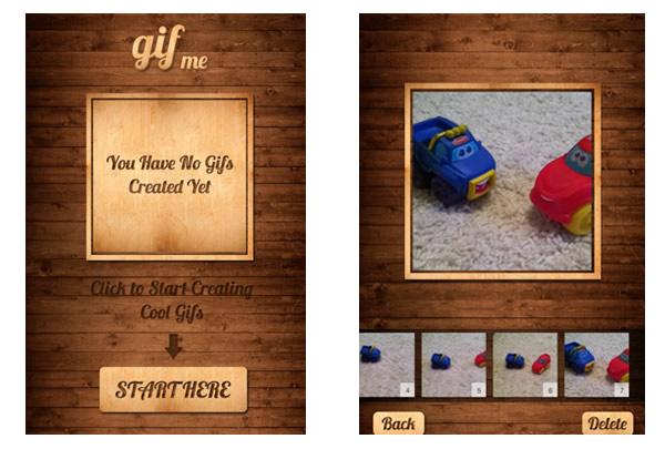 Crea animaciones GIF con las imágenes / fotos que tengas en tu iPhone