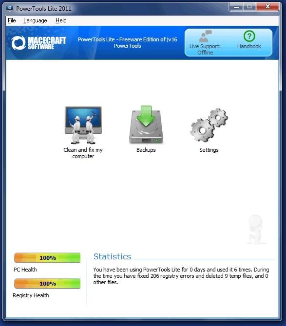 Reparar, limpiar y optimizar el registro de Windows 7