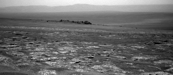 La NASA resume en video los tres últimos de años de viaje del Opportunity en Marte