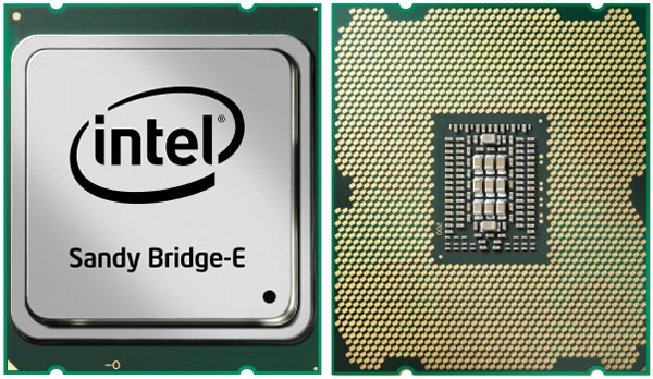 Intel Sandy Bridge-E, Core i7-3960X y 3930K